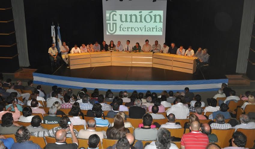 La Unión Ferroviaria no para el 10 de abril