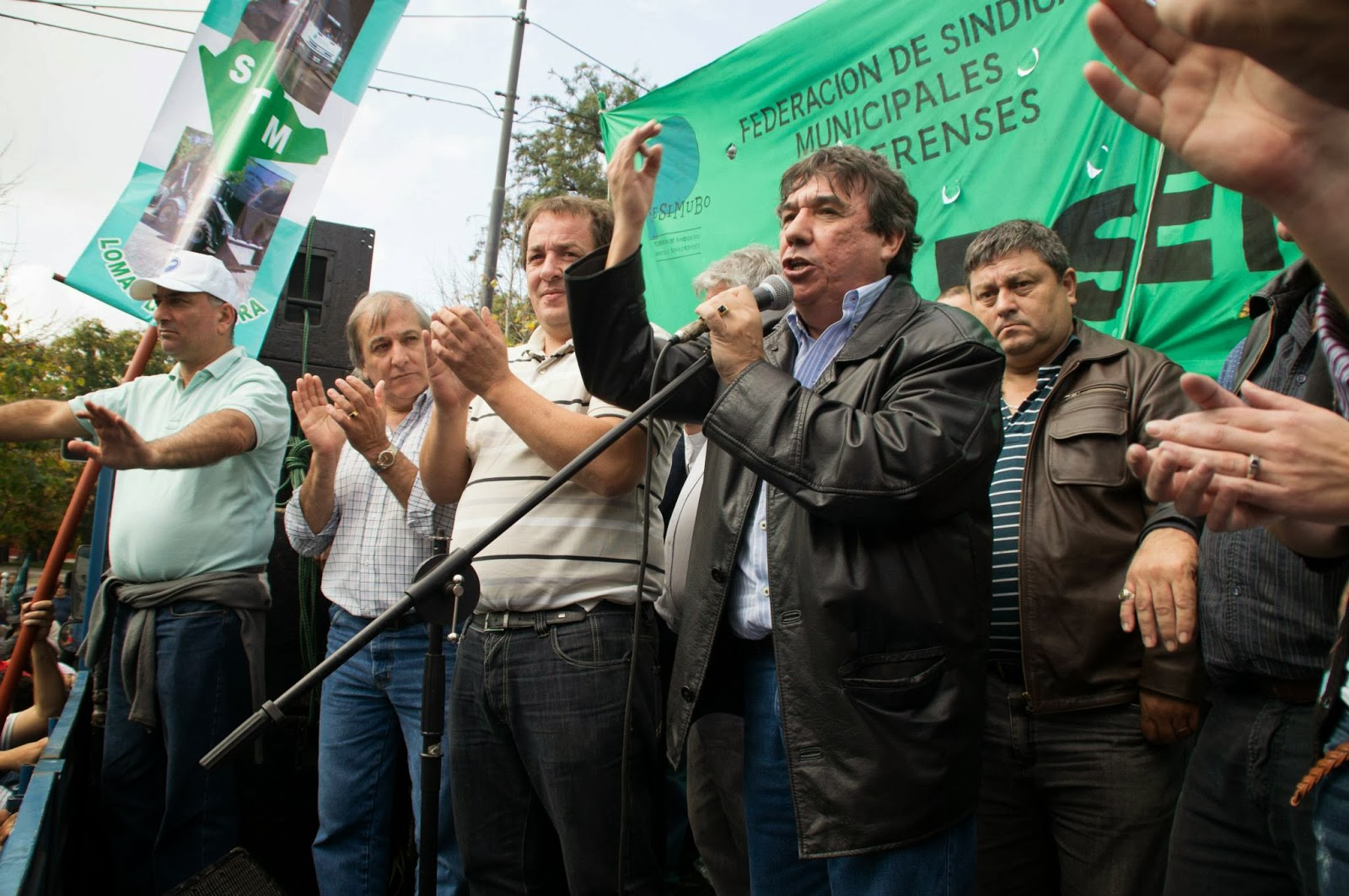 Municipales bonaerenses en busca de sus paritarias