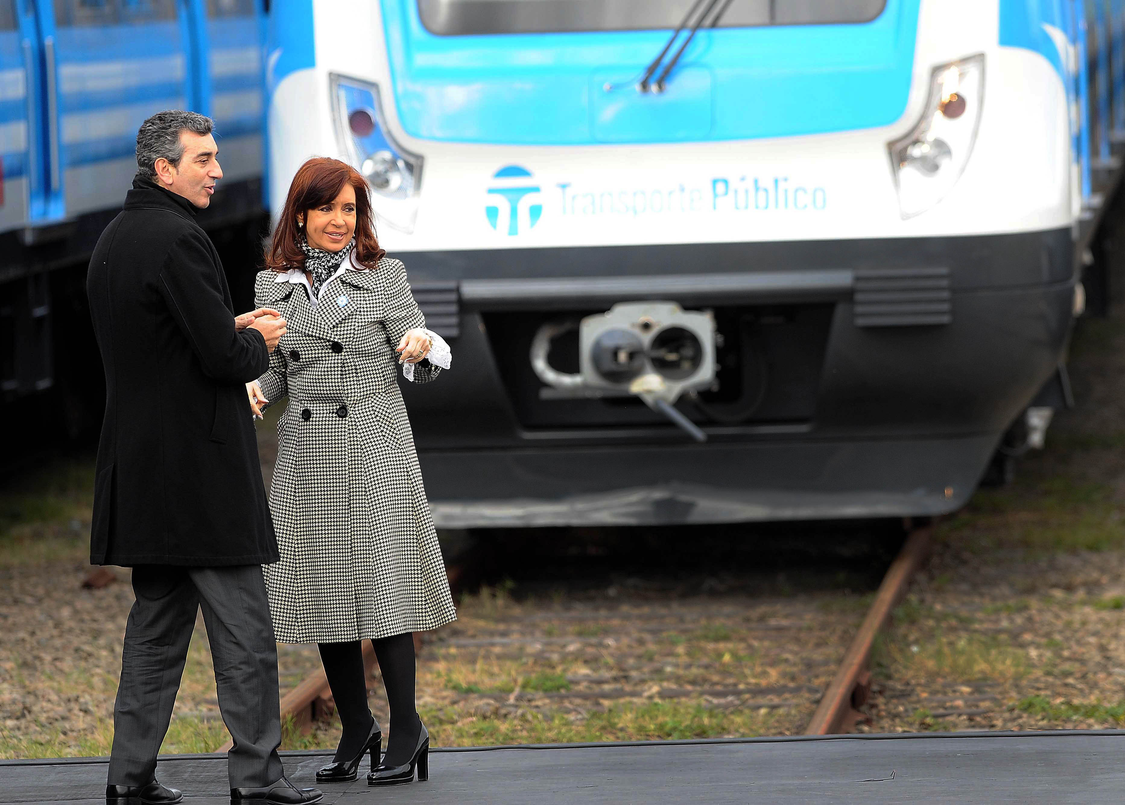 """CFK """"Los ferroviarios no son dueños del servicio"""""""