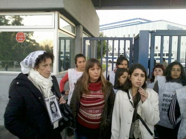 Gestamp: corte y acampe para denunciar a Scioli