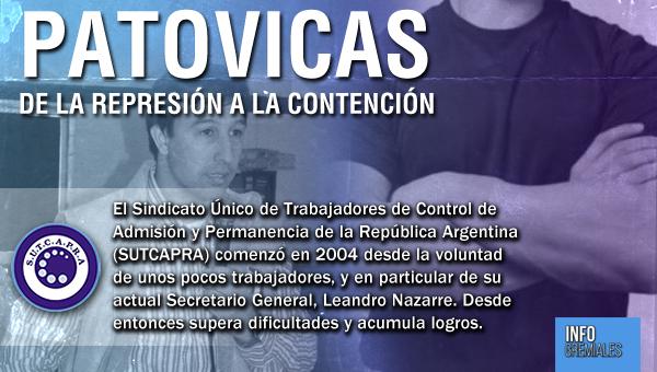 Patovicas: de la represión a la contención