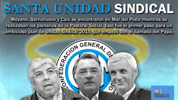 Santa unidad sindical