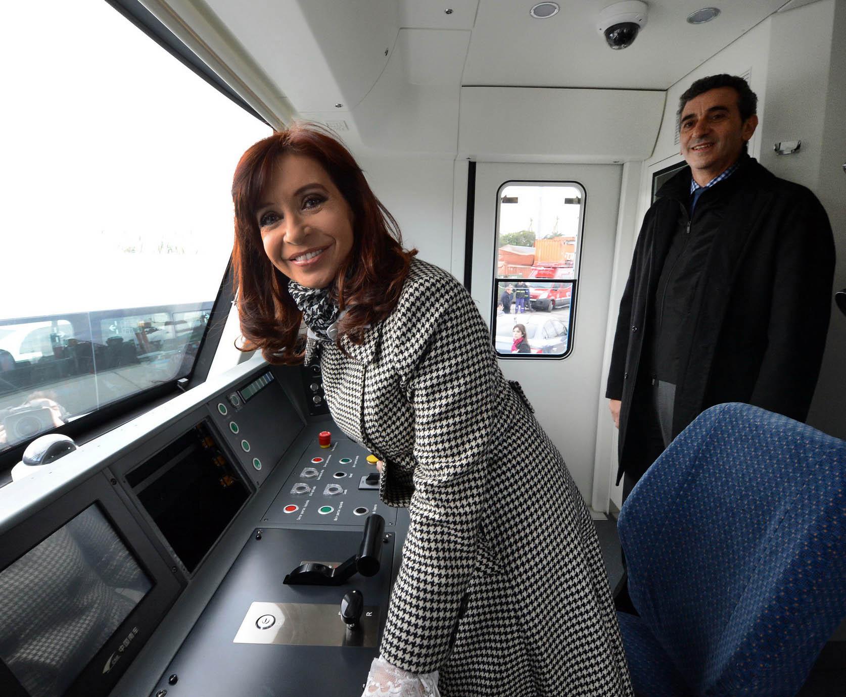 CFK junto Randazzo criticó a gremialistas