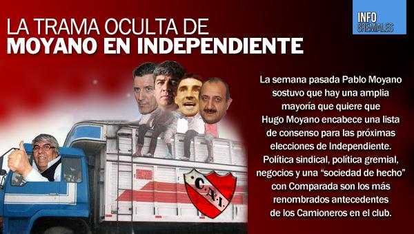 La trama oculta de Moyano en Independiente