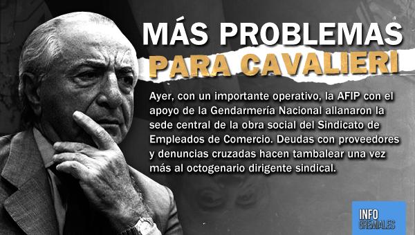 Más problemas para Cavalieri
