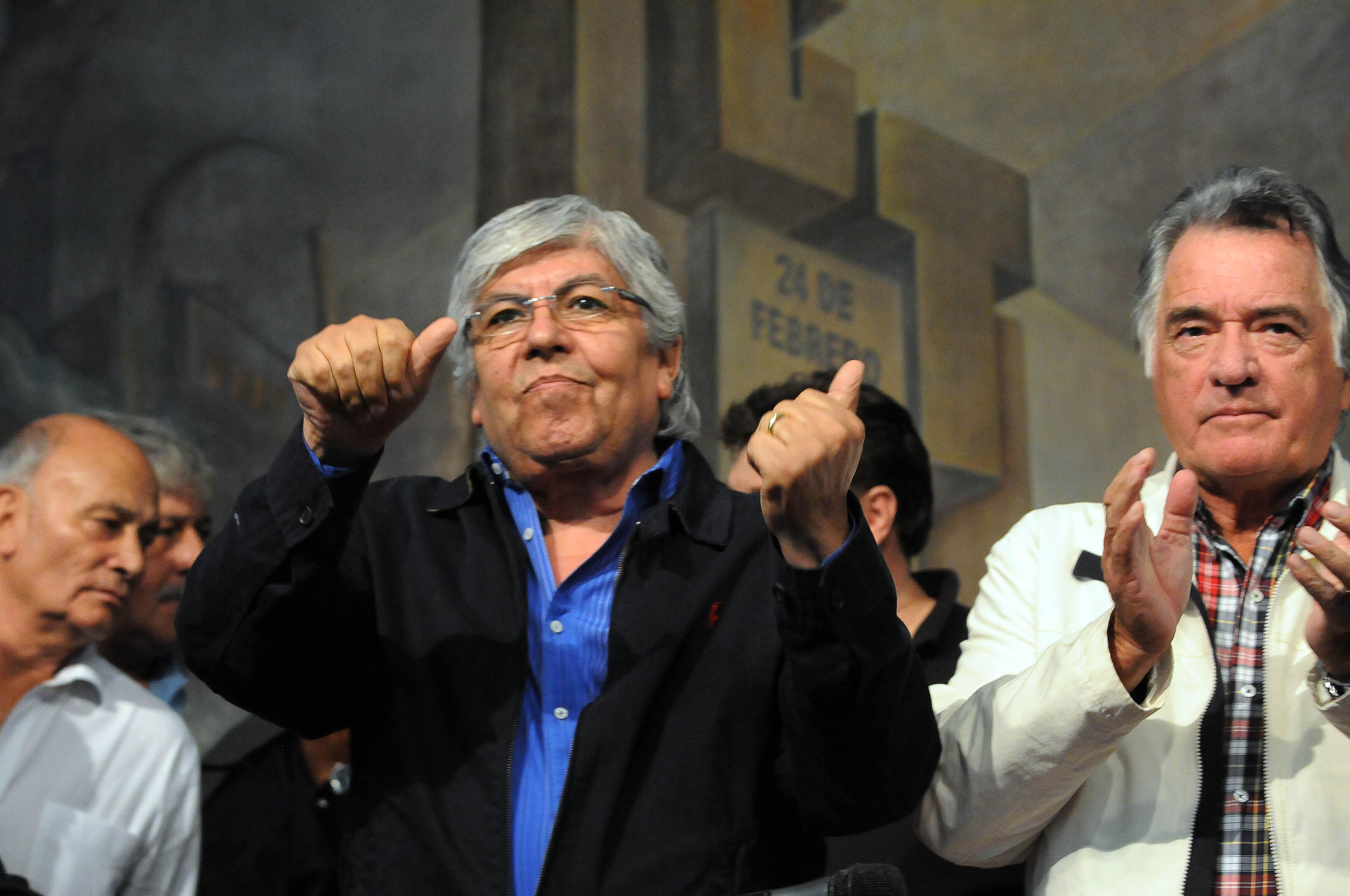 Apuntan a Moyano y Barrionuevo por los incidentes