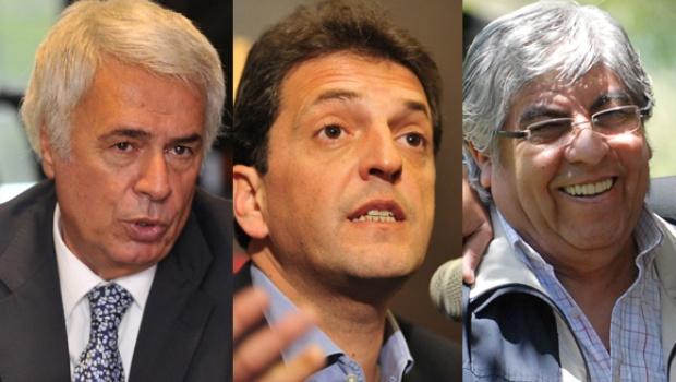 Massa, De la Sota y Moyano juntos en Córdoba