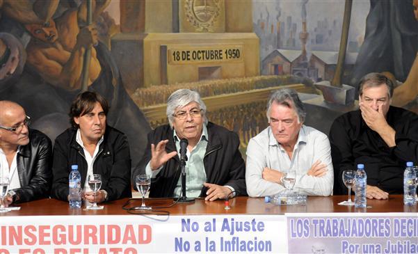 Moyano ratificó un paro nacional en agosto