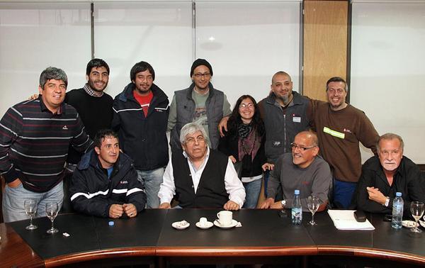 La CGT Azopardo recibió a los delegados de Lear
