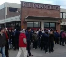 Donnelley anuncio cierre y despido de 400 empleado