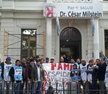 Exigen la reincorporación de 50 despedidos en PAMI
