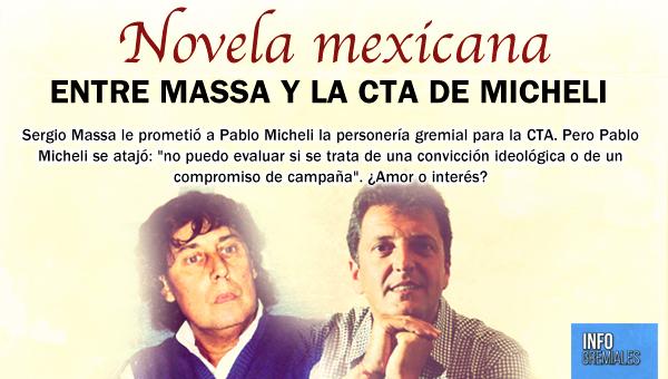 Novela mexicana entre Massa y Micheli
