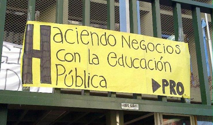 Macri desconoce delegados docentes