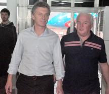 Macri sin sindicalistas pero con Fernando Miembro