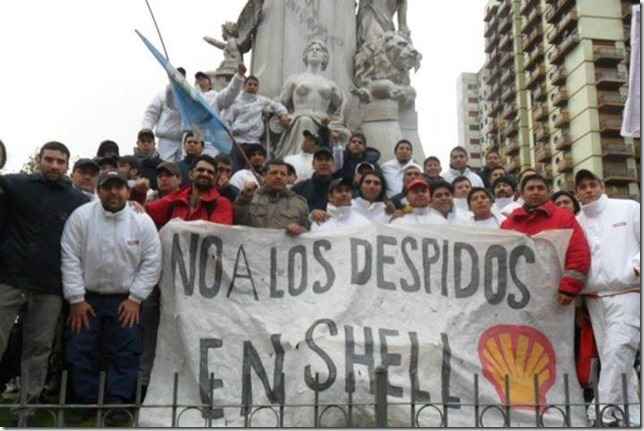 Escracharon a Shell en la Rural