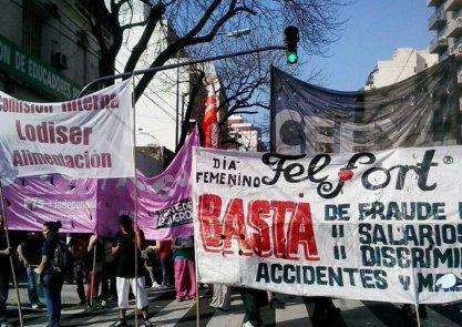 Nuevas protestas de trabajadores de Felfort