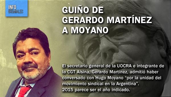 Guiño de Gerardo Martinez a Moyano