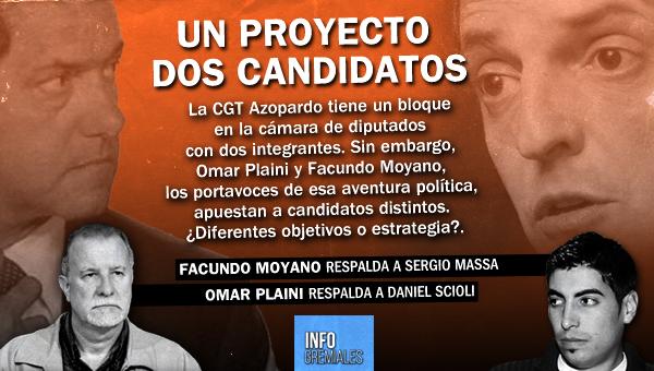 Un proyecto, dos candidatos