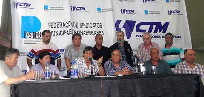 Municipales: Sin paritarias hay paro