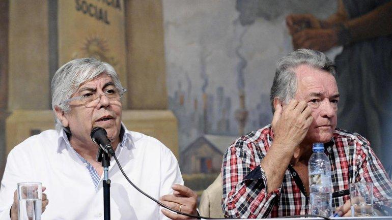 Barrionuevo plantó a Moyano