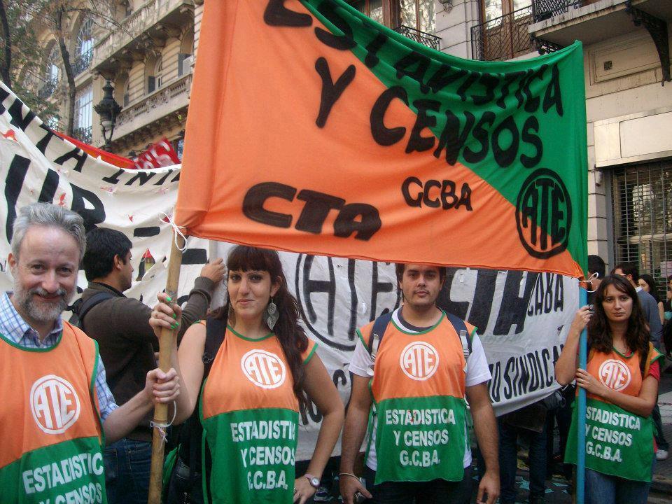 Persecución gremial en el Indec de Macri