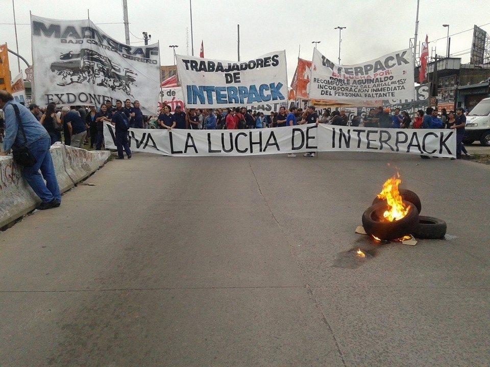 Nueva protesta en Interpack