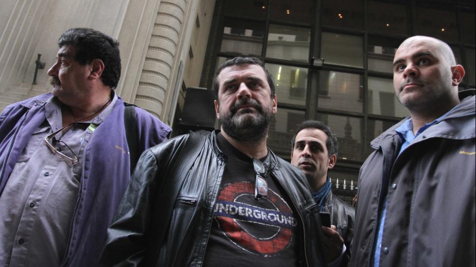 Metrodelegados movilizan contra las persecuciones