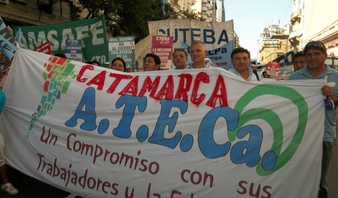 Docentes: Catamarca prepara nueva propuesta