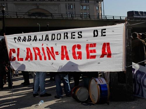 Exigen mejoras salariales y laborales en Clarín