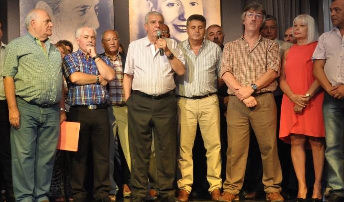 Lingeri pidió por la unidad sindical