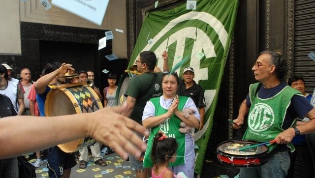 Estatales porteños volvieron a reclamar aumento