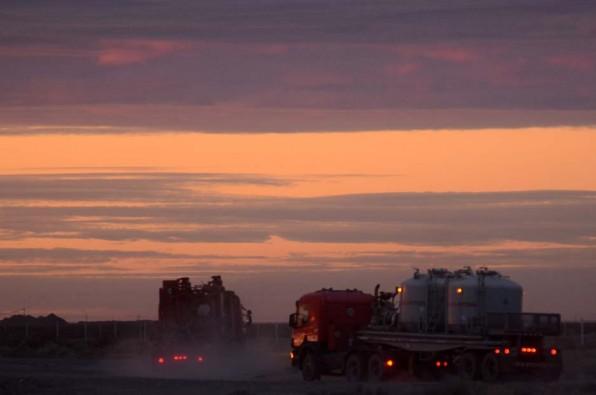 Camioneros: Paro y conciliación de Neuquén