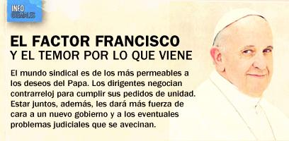 El factor Francisco y el temor por lo que viene