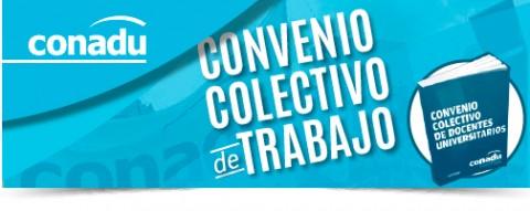 CONADU junta firmas por el Convenio Colectivo