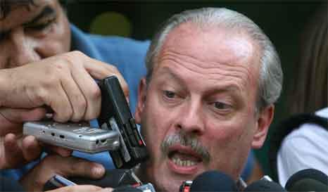 Apareció Rodriguez y pidió dialogo con CFK