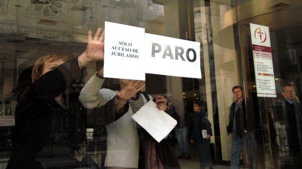 Paro y movilizaciones de los bancarios