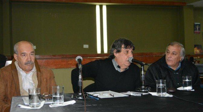 Municipales presentaron su Convenio Colectivo