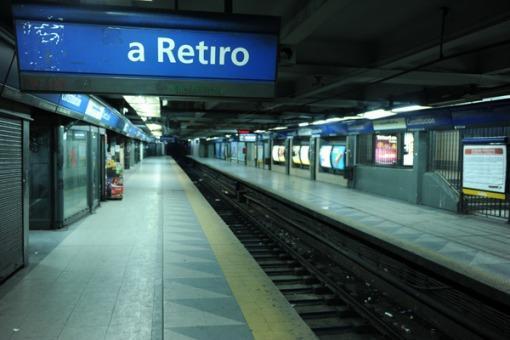 Paro en la Linea C de Subterráneos