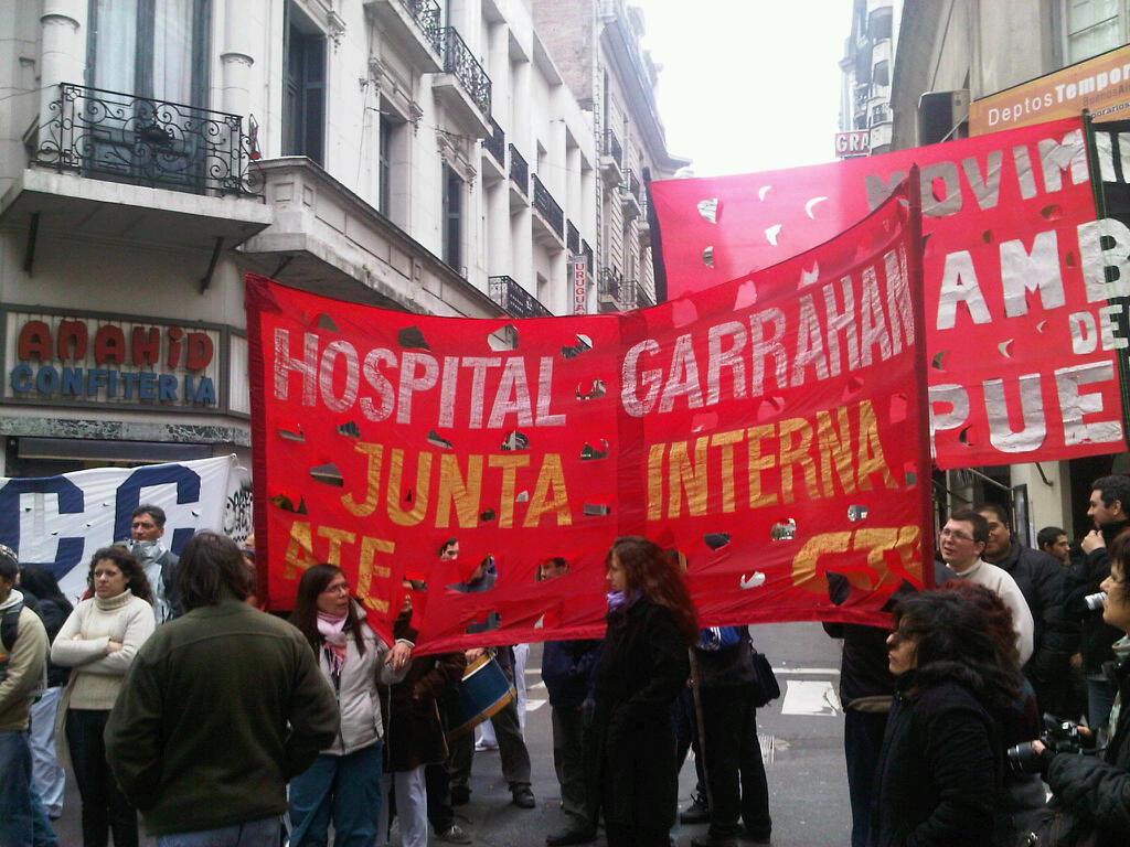 Trabajadores del Garrahan movilizarán por un despido