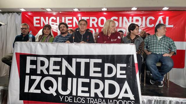 Altamira se reunió con sindicalistas en el Bauen