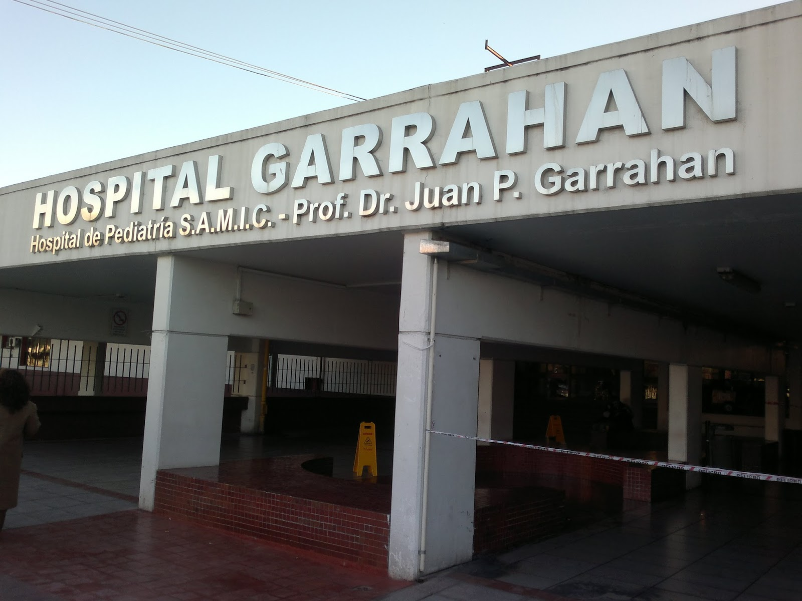 Nueva protesta en el Garrahan