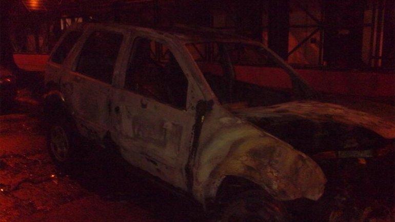 Incendian el auto de Sobrero