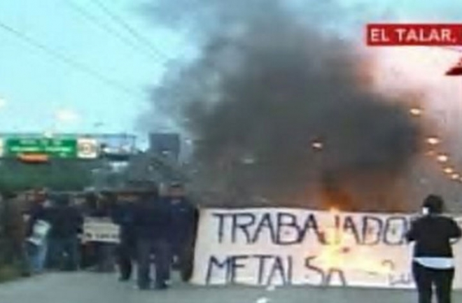 Corte de empleados de Metalsa por despidos y persecuciones
