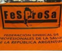 FESPROSA denunciará penalmente a Tomada