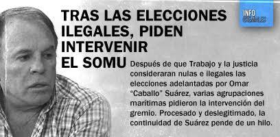 Tras las elecciones ilegales, piden intervenir el SOMU