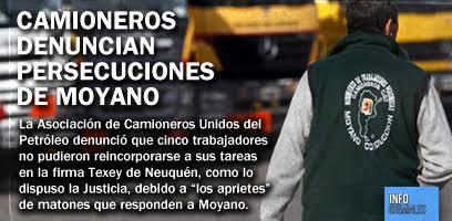 Camioneros denuncian persecuciones de Moyano