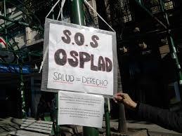 Movilización contra el vaciamiento de OSPLAD
