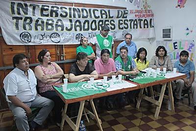 Reclamos sin respuesta de ATE-Jujuy a Morales