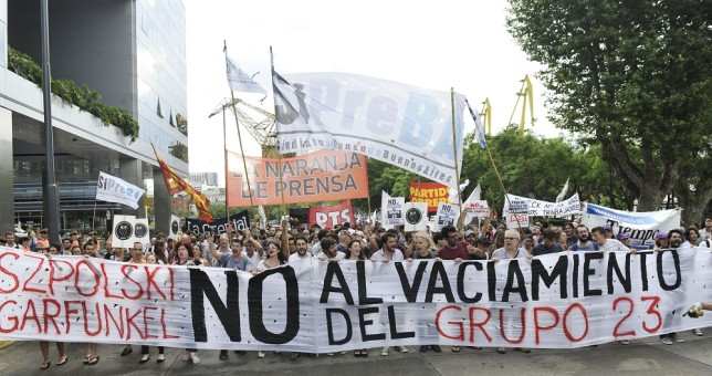 Permanencia en Tiempo Argentino por temor a cierre | Info Gremiales