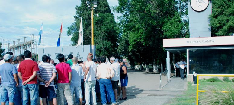 La CGT san Lorenzo va al paro por más de 400 despidos